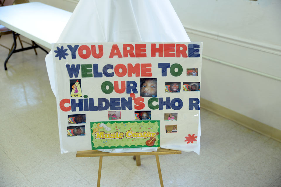 Childrens Choir Sign